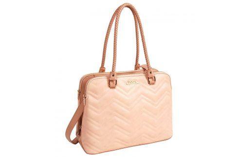 Dámská kabelka Doca 13441 - růžová Kabelky