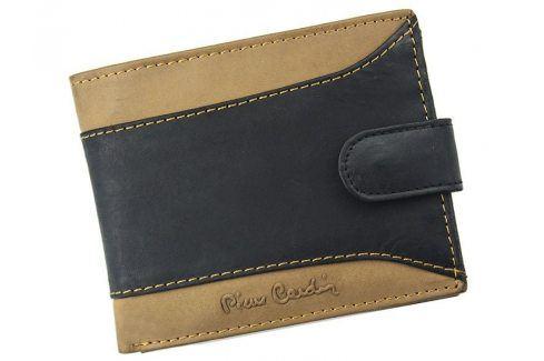 Pánská kožená peněženka Pierre Cardin Julien - černo-hnědá Peněženky