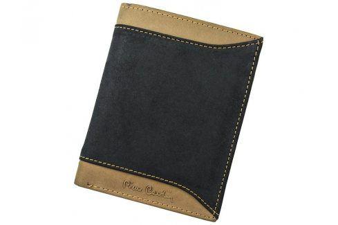 Pánská kožená peněženka Pierre Cardin Eric - černo-hnědá Peněženky