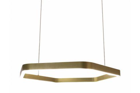 Závěsné světlo Malgra 120 cm, kov, zlatá kh:2576 Culty Gold Závěsná svítidla