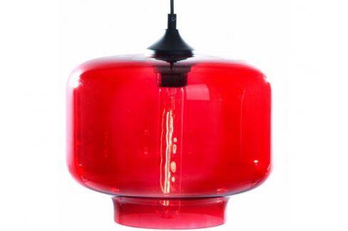 Závěsné světlo Todus sun 25 cm, červená Nordic:58133 Nordic Závěsná svítidla