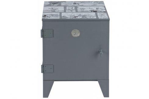 Dětský noční stolek Idea, ocelově šedá dee:377043-G Hoorns Noční stolky
