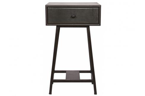 Noční stolek Trax, tmavé dřevo dee:375940-B Hoorns Noční stolky