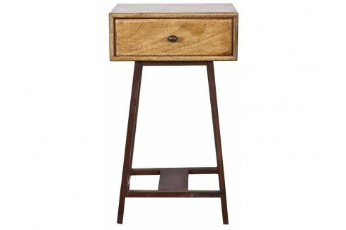 Noční stolek Trax, světlé dřevo dee:375940 Hoorns Noční stolky