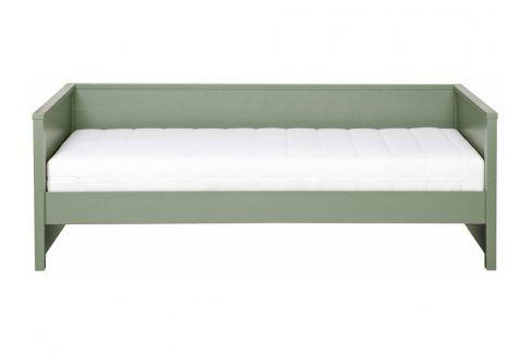 Postel Warde 90x200 cm, zelená dee:365593-G Hoorns Postele