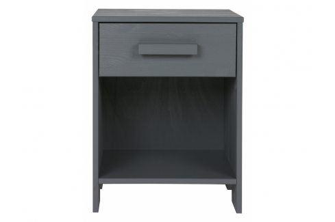 Noční stolek Koben, tmavě šedá dee:365554-GBS Hoorns Noční stolky