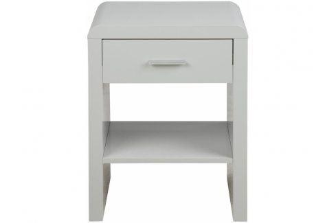 Noční stolek Daisy, bílá SCHDN0000062247 SCANDI Noční stolky